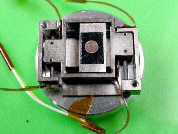 図3 二軸駆動装置の試作品